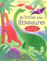 Activités avec les dinosaures