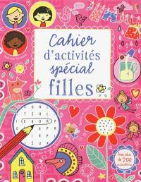 Cahier d'activités spécial filles