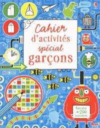 Cahier d'activités spécial garçons