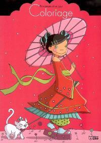 Coloriage : princesse d'un jour