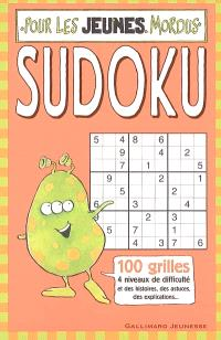 Sudoku pour les jeunes mordus : 100 grilles, 4 niveaux de difficullté et des histoires, des astuces, des explications...