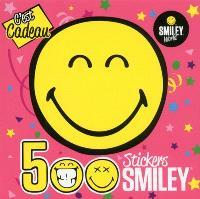 C'est cadeau : 500 stickers smiley