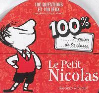 Le Petit Nicolas 100 % premier de la classe : 100 questions et 100 jeux pour réussir à l'école primaire