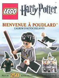 Lego Harry Potter : bienvenue à Poudlard : l'album d'autocollants
