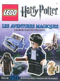 Lego Harry Potter : les aventures magiques : l'album d'autocollants