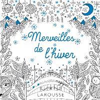 Merveilles de l'hiver : des coloriages magiques et féériques