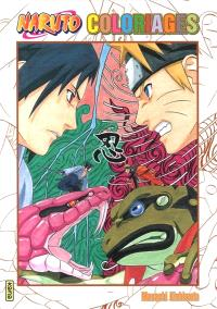 Naruto : coloriages