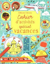 Cahier d'activités spécial vacances