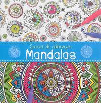 Carnet de coloriages : mandalas