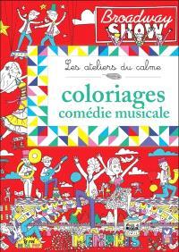 Coloriages comédie musicale