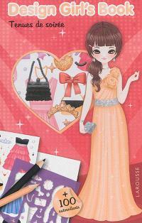 Design girl's book : tenues de soirée