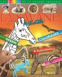 Les animaux de la savane : activités