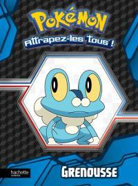 Pokémon : attrapez-les tous !, Grenousse