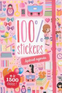 100 % stickers : spécial agenda
