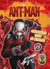 Ant-Man : coloriages, jeux et stickers