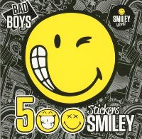 Bad boys : 500 stickers smiley