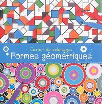 Carnet de coloriages : formes géométriques