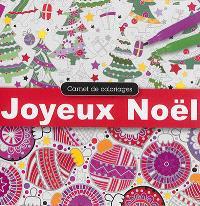 Carnet de coloriages : joyeux Noël