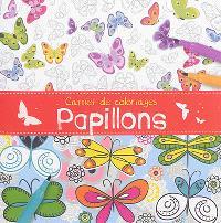 Carnet de coloriages : papillons