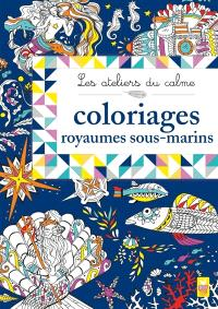 Coloriages royaumes sous-marins