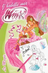 J'habille mes Winx, La magie