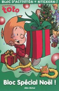 Les blagues de Toto, bloc spécial Noël ! : bloc d'activités + stickers