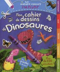 Mon cahier de dessins de dinosaures