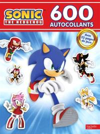 Sonic the hedgehog : 600 autocollants