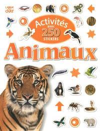 Activités avec 250 stickers animaux