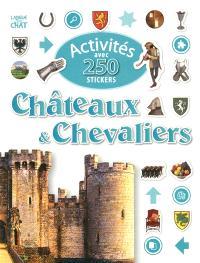 Activités avec 250 stickers châteaux & chevaliers