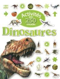 Activités avec 250 stickers dinosaures