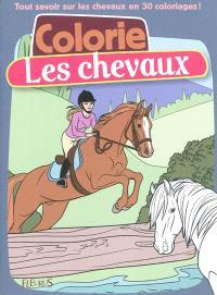 Colorie les chevaux