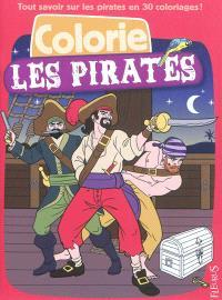 Colorie les pirates
