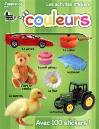J'apprends avec Langue au chat, les activités stickers, les couleurs