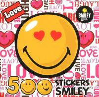 Love : 500 stickers smiley