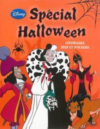 Spécial Halloween : coloriages, jeux et stickers