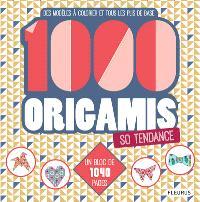 1.000 origamis so tendance : des modèles à colorier et tous les plis de base