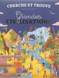 Les grandes civilisations : cherche et trouve
