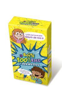 Boîte 100 % rire et devinettes