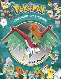 Pokémon cherche et trouve : Sacha rencontre Brutalibré