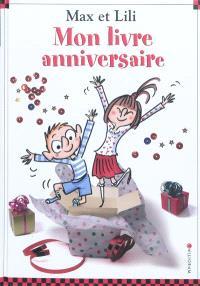 Mon livre anniversaire