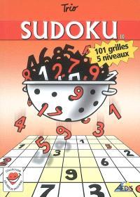 Sudoku : 101 grilles, 5 niveaux
