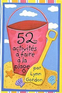 52 activités à faire à la plage