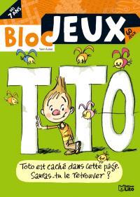Bloc-jeux, Toto : 60 jeux, dès 7 ans