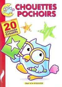 Chouettes pochoirs