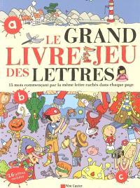 Le grand livre-jeu des lettres