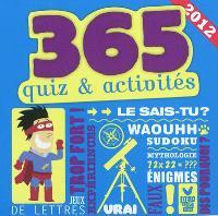 365 quiz & activités