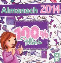 Almanach 100 % fille : 2014