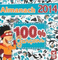 Almanach 100 % garçon : 2014