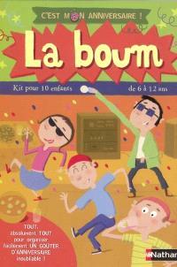 La boum : kit pour 10 enfants de 6 à 12 ans